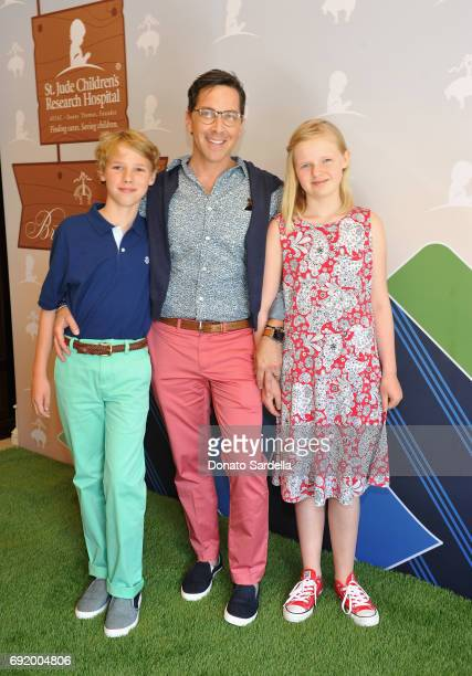 Jonah Bucatinsky Dan Bucatinsky and Eliza Bucatinsky at the Brooks Brothers Beverly Hills summer camp party benefitting St Jude Children's Research...