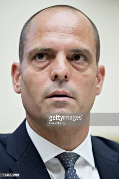 Jonah Crane former deputy assistant secretary of Financial Stability Oversight Council at the US Treasury speaks during a House Financial Services...