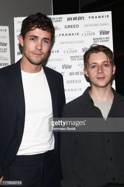 Jonah HauerKing and Gerren Howell at the Sony Pictures Classics TIFF Celebration Dinner 2019 at Morton's The Steakhouse on September 07 2019 in...