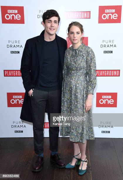 Jonah HauerKing and Maya Hawke attend the 'Little Women' special screening at The Soho Hotel on December 11 2017 in London England