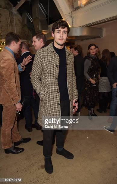 Jonah HauerKing attends The Gentleman's Journal Christmas Drinks at Wild by Tart on December 18 2019 in London England