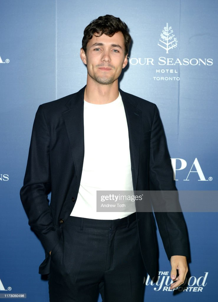 The Hollywood Foreign Press Association And The Hollywood Reporter Party At 2019 Toronto International Film Festival - Red Carpet : Fotografia de notícias