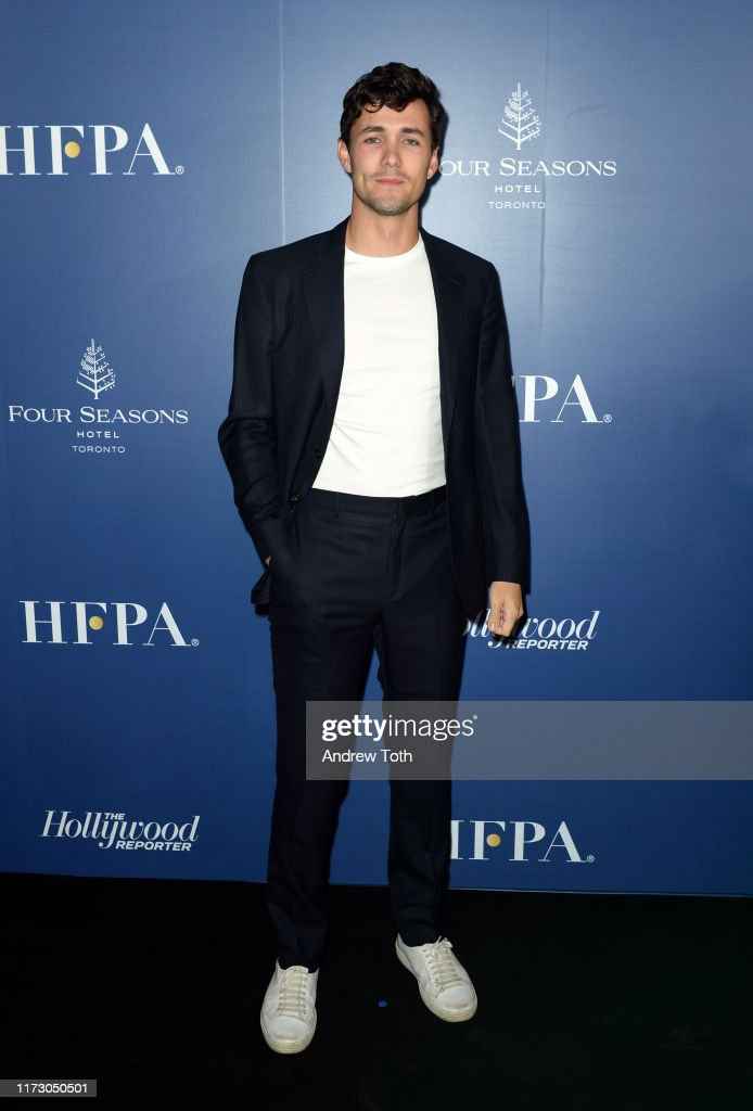 The Hollywood Foreign Press Association And The Hollywood Reporter Party At 2019 Toronto International Film Festival - Red Carpet : News Photo