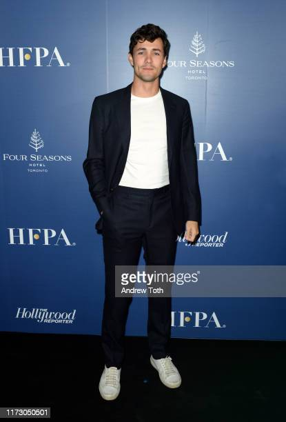 Jonah HauerKing attends The Hollywood Foreign Press Association and The Hollywood Reporter party at the 2019 Toronto International Film Festival at...
