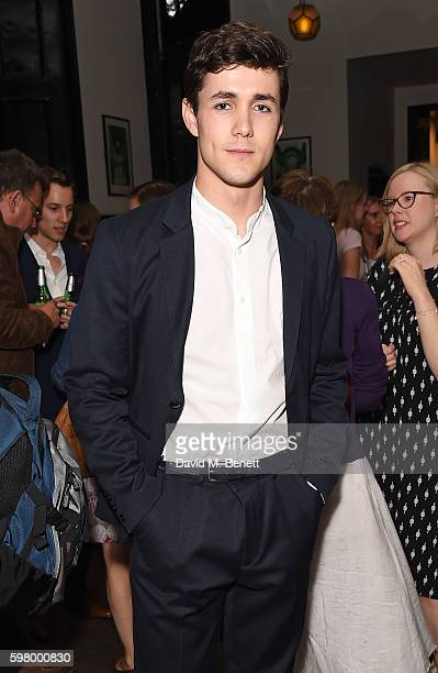 Jonah HauerKing attends the press night party for The Entertainer the final production in The Kenneth Branagh Theatre Company's West End season at...