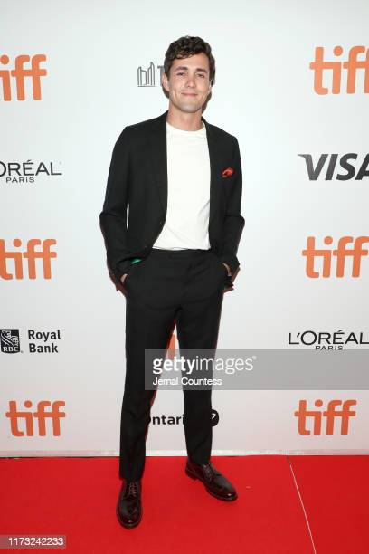 """Jonah Hauer-King attends """"The Song Of Names"""" premiere during the 2019 Toronto International Film Festival at Roy Thomson Hall on September 08, 2019..."""