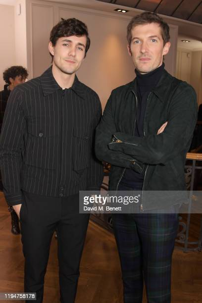 Jonah HauerKing wearing Paul Smith and Gwilym Lee wearing Paul Smith attend the Paul Smith AW20 50th Anniversary show as part of Paris Fashion Week...
