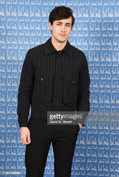 Jonah HauerKing wearing Paul Smith attends the Paul Smith AW20 50th Anniversary show as part of Paris Fashion Week on January 19 2020 in Paris France