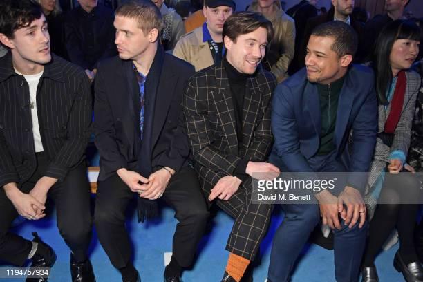 Jonah HauerKing wearing Paul Smith Billy Howle wearing Paul Smith Joe Dempsie wearing Paul Smith Jacob Anderson wearing Paul Smith and Mimi Xu...