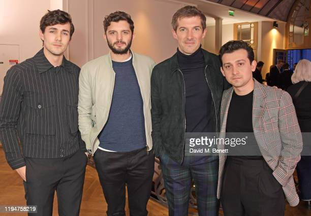 Jonah HauerKing wearing Paul Smith Michael C Fox Gwilym Lee wearing Paul Smith and Craig Roberts wearing Paul Smith attend the Paul Smith AW20 50th...