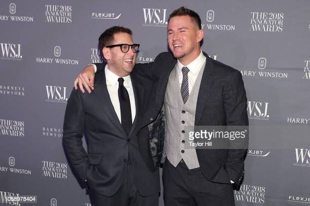 Jonah Hill and Channing Tatum attend the 2018 WSJ Magazine Innovator Awards at Museum of Modern Art on November 7 2018 in New York City