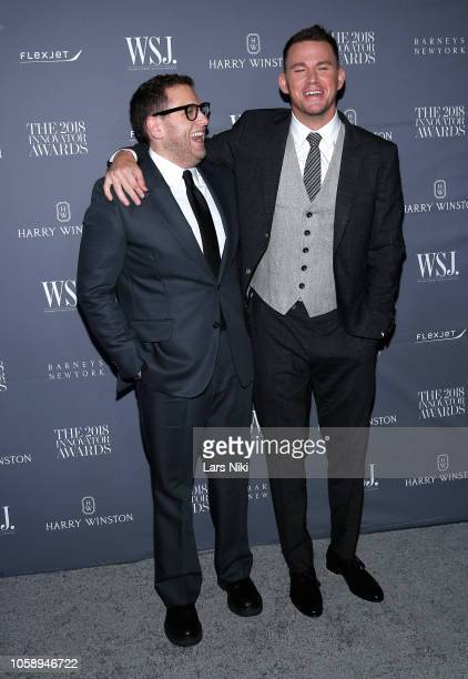 Jonah Hill and Channing Tatum attend WSJ Magazine 2018 Innovator Awards Sponsored By Harry Winston FlexJet Barneys New York Arrivals at MOMA on...