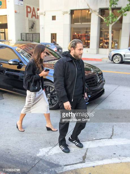 Jonah Hill and Gianna Santos are seen on May 13 2019 in Los Angeles California