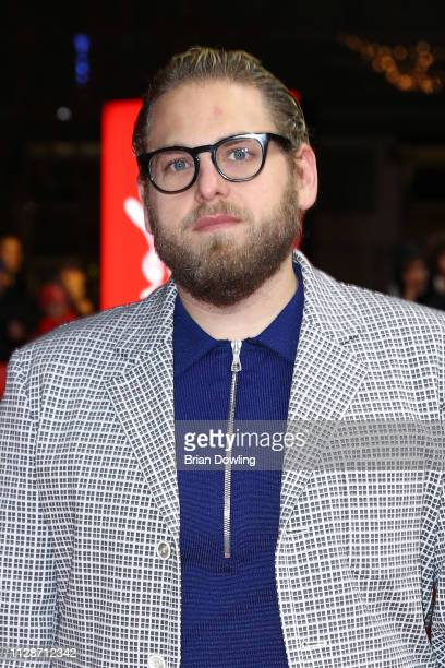 Jonah Hill arrives for the Mid 90's premiere during the 69th Berlinale International Film Festival Berlin at Zoo Palast on February 10 2019 in Berlin...