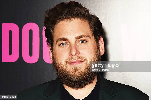 Jonah Hill attends a special screening of 'War Dogs' at Picturehouse Central on August 11 2016 in London England