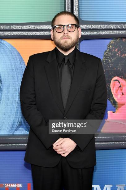 Jonah Hill attends Maniac Season 1 Premiere at Center 415 on September 20 2018 in New York City