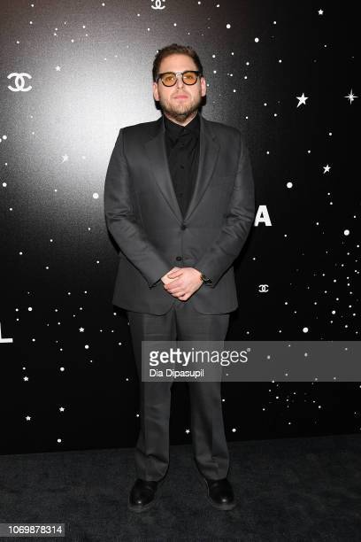 Jonah Hill attends the 2018 Museum of Modern Art Film Benefit A Tribute To Martin Scorsese at Museum of Modern Art on November 19 2018 in New York...