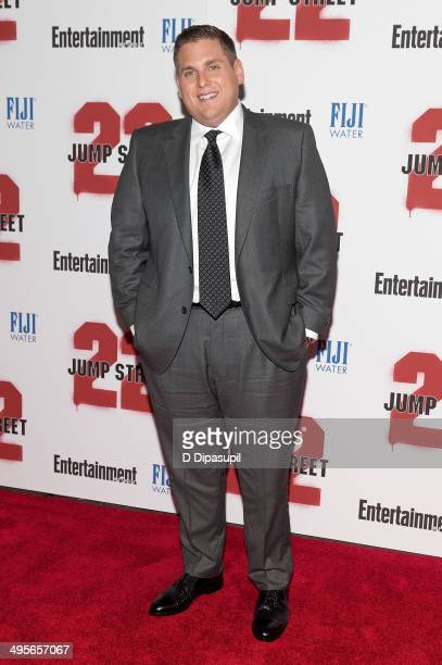 Jonah Hill attends the 22 Jump Street premiere at AMC Lincoln Square Theater on June 4 2014 in New York City