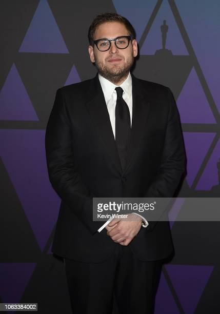 Jonah Hill attends the Academy of Motion Picture Arts and Sciences' 10th annual Governors Awards at The Ray Dolby Ballroom at Hollywood Highland...