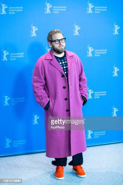 Jonah Hill attends the 'Mid 90's' Photocall at the 69th Berlinale International Film Festival Berlin on February 10 in Berlin, Germany. The Berlin...