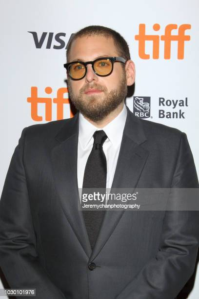 Jonah Hill attends the 'Mid90s' Premiere during 2018 Toronto International Film Festival at Ryerson Theatre on September 9 2018 in Toronto Canada
