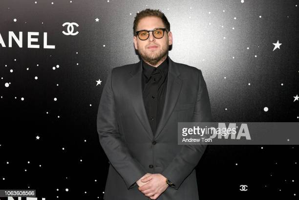 Jonah Hill attends The Museum Of Modern Art Film Benefit Presented By CHANEL A Tribute To Martin Scorsese on November 19 2018 in New York City