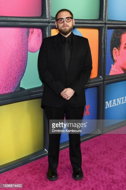 Jonah Hill attends the Netflix Original Series Maniac New York Premiere Screening and After Party at Center 415 on September 20 2018 in New York City