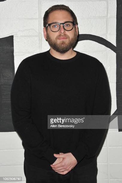 Jonah Hill attends the premiere of A24's Mid90s at West LA Courthouse on October 18 2018 in Los Angeles California