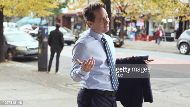 LIVE Jonah Hill Episode 1750 Pictured Beck Bennett during the Midterm Ad sketch on Saturday November 3 2018