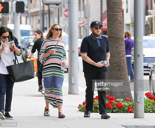 Jonah Hill is seen on April 11 2016 in Los Angeles California