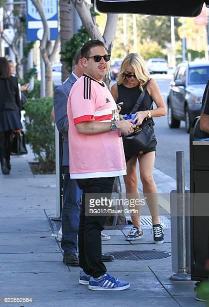 Jonah Hill is seen on November 11, 2016 in Los Angeles, California.
