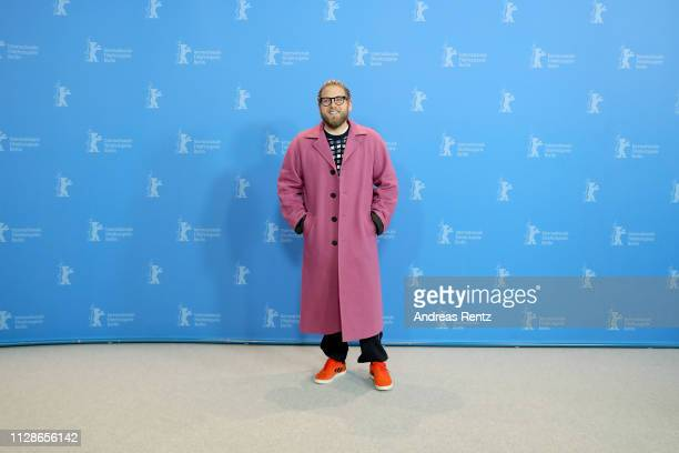 Jonah Hill poses at the Mid 90's photocall during the 69th Berlinale International Film Festival Berlin at Grand Hyatt Hotel on February 10 2019 in...