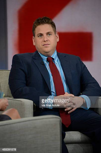 AMERICA Jonah Hill who stars wrote the story and produced the movie 22 Jump Street appears on GOOD MORNING AMERICA 6/4/14 airing on the Walt Disney...