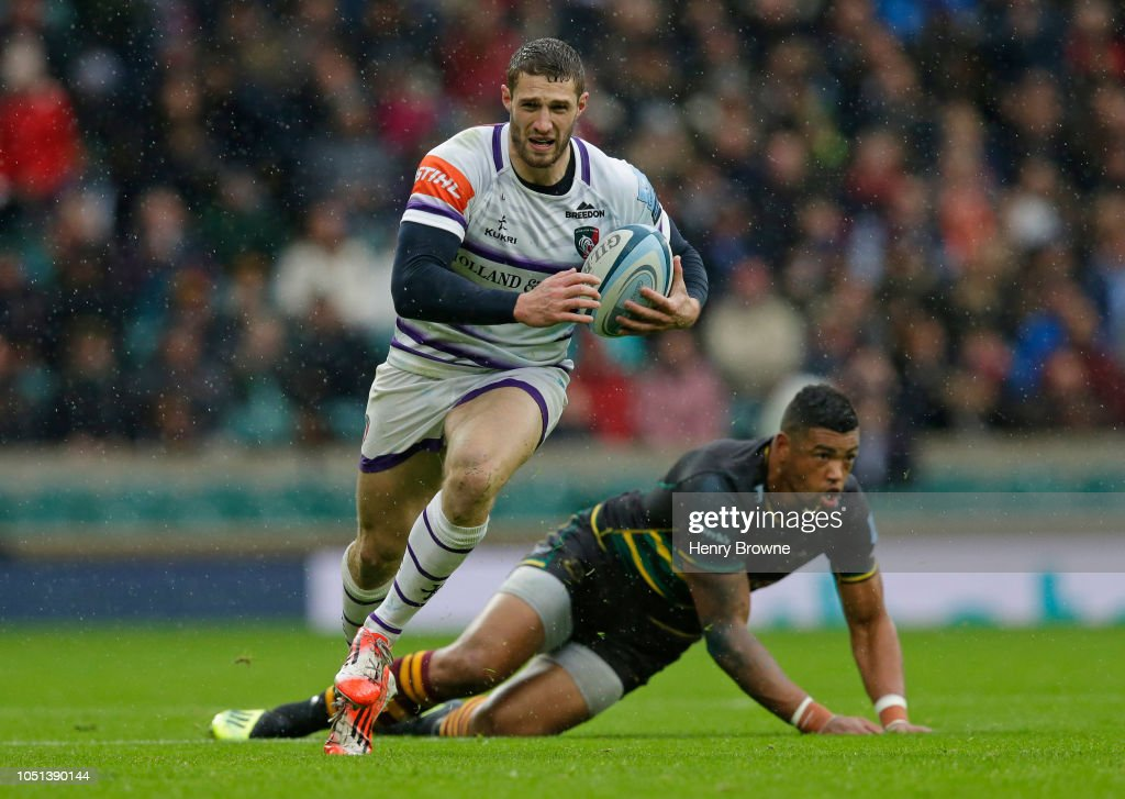 Northampton Saints v Leicester Tigers - Gallagher Premiership Rugby : News Photo