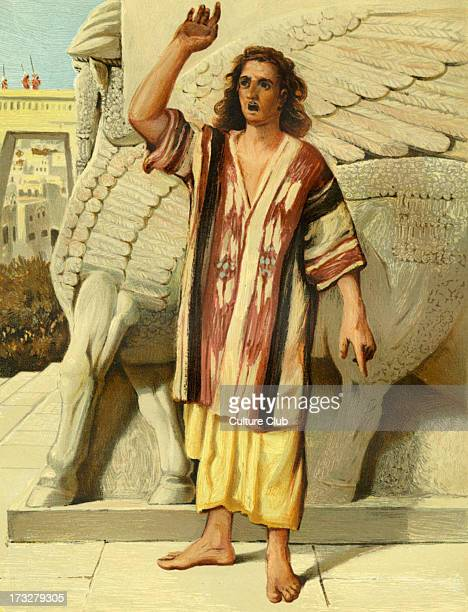 Jonah preaching in Nineveh. In the Gospel of Matthew, Jesus makes reference to Jonah, who preached a warning to the people of Nineveh, the Assyrian...