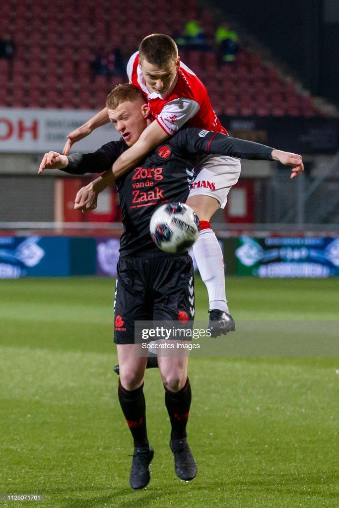 NLD: MVV Maastricht v Jong FC Utrecht - Jupiler League