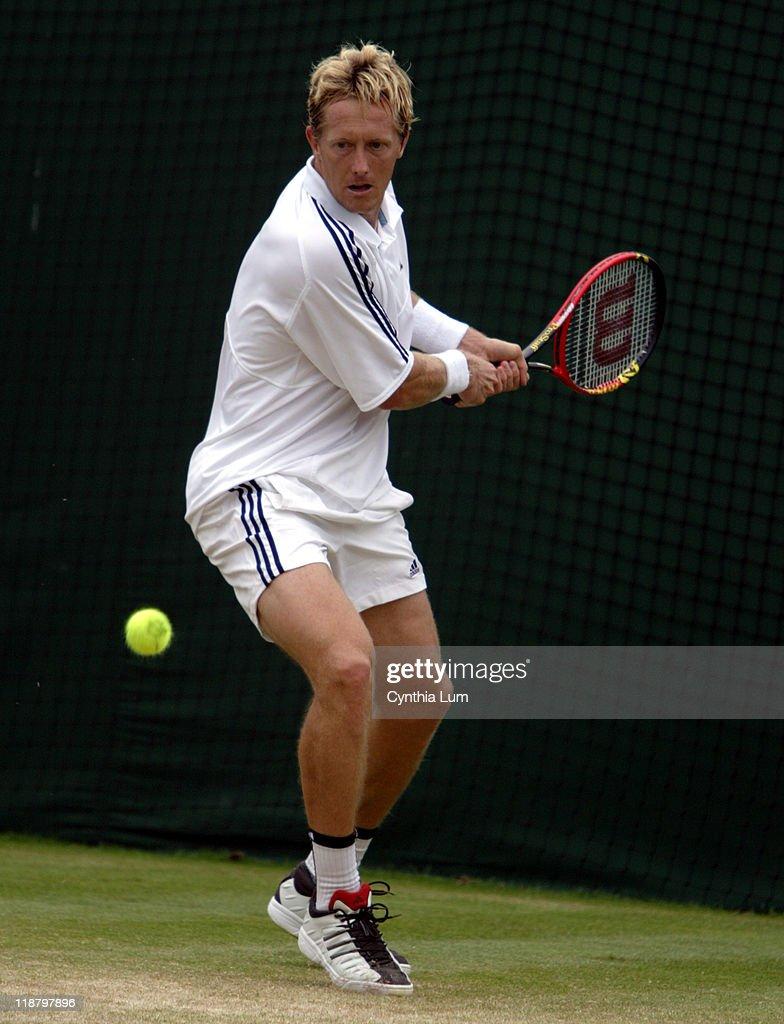 Wimbledon 2003 - Third Round - Jonas Bjorkman vs. Justin Gimelstob