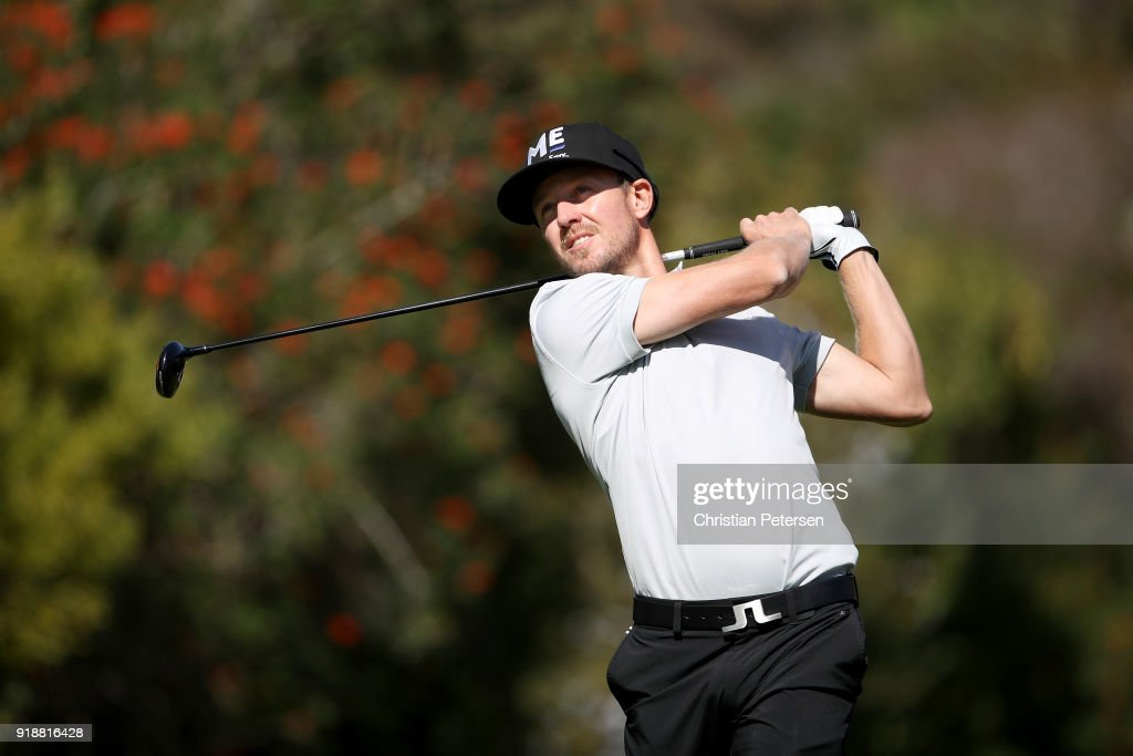 Genesis Open - Round One : News Photo