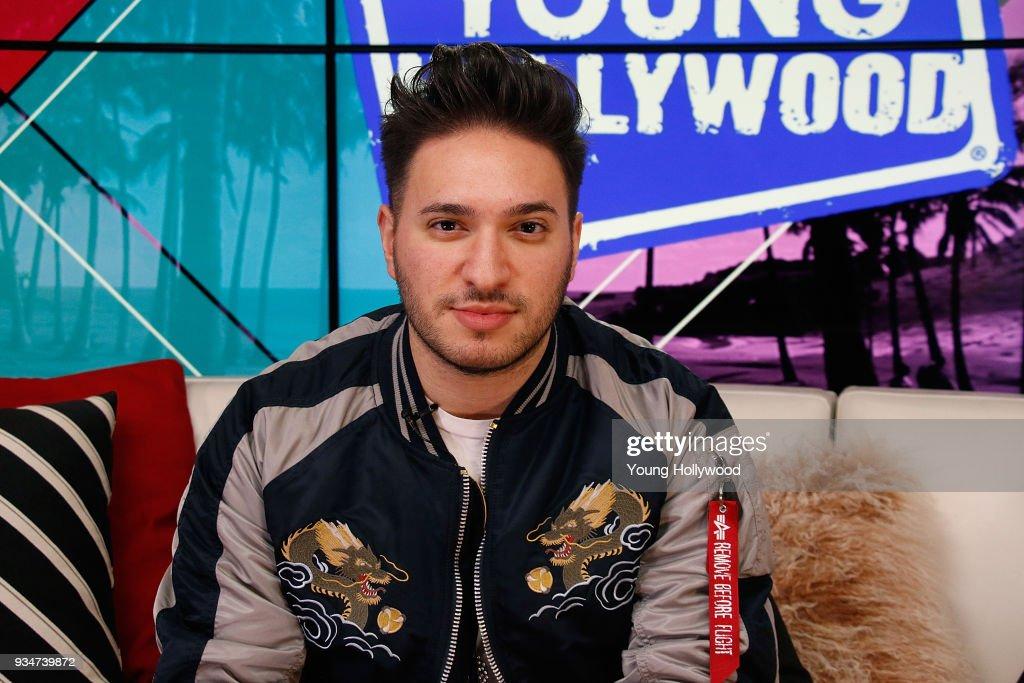 Sabrina Carpenter And Jonas Blue Visit Young Hollywood Studio