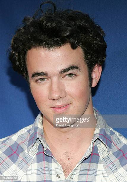 Jonas Brothers band member Kevin Jonas attends an industry screening of Walt Disney Pictures' Ponyo at the El Capitan Theatre on July 27 2009 in...