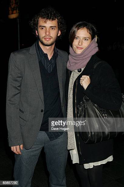 Jonas Cuaron and Eireann Harper arrive at the UK premiere of Ano Una at Curzon Renoir Cinema on November 29 2008 in London England