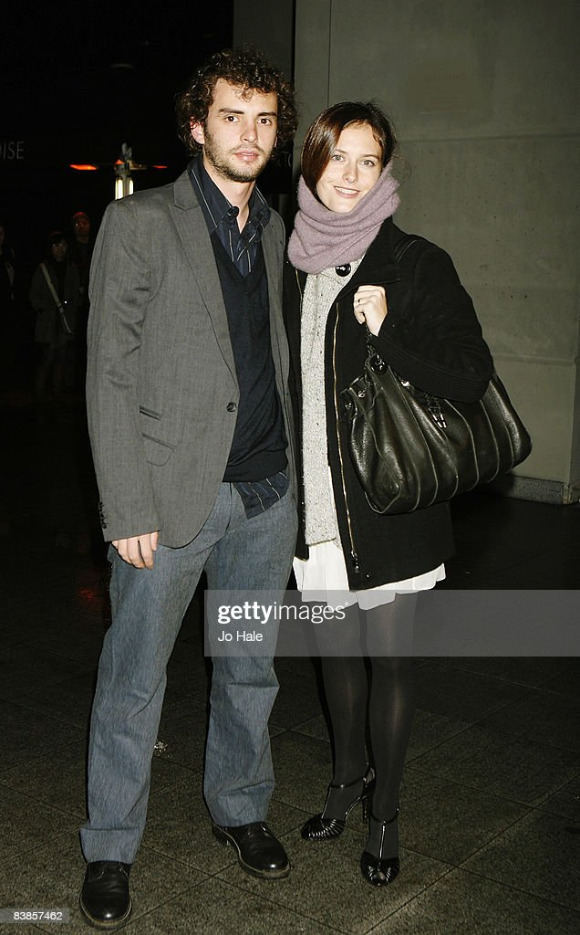 Jonas Curaron and Eireann Harper arrive at the UK premiere of Ano Una at Curzon Renoir Cinema on November 29, 2008 in London, England.