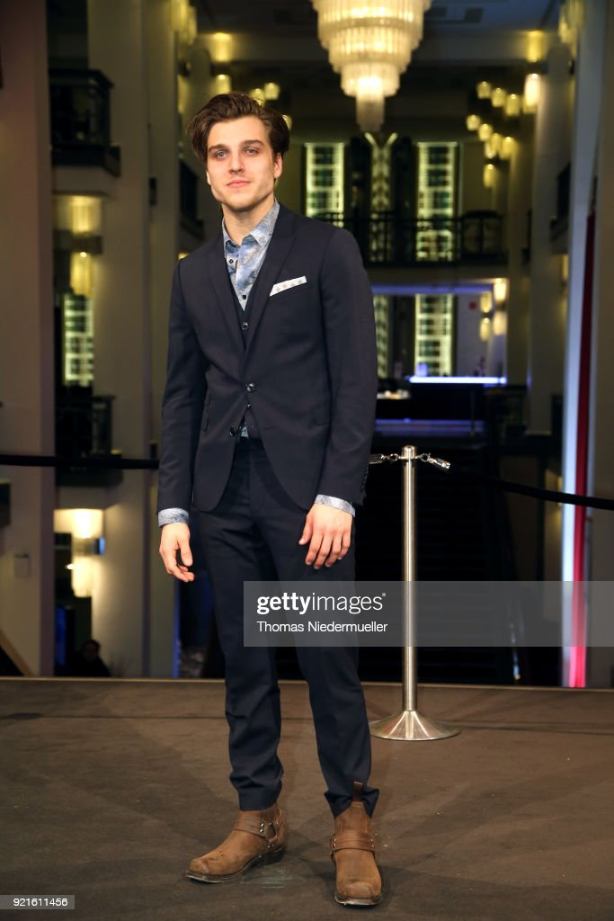 Jonas Dassler attends the 'The Silent Revolution' (Das schweigende Klassenzimmer) premiere during the 68th Berlinale International Film Festival Berlin at Friedrichstadtpalast on February 20, 2018 in Berlin, Germany.