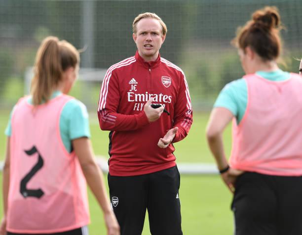 GBR: Arsenal Women Pre-Season Training Session