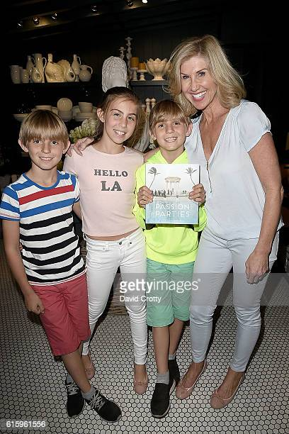 Jonas Friedman Zoe Friedman Lukas Friedman and Kevyn Wynn attend as Elaine Wynn and Hudson Grace Celebrate the Publication of Steven Stolman's...