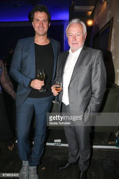 Jonas Grashey Managing Director Bunte and Wolfgang Kubicki during the New Faces Award Style 2017 at 'The Grand' hotel on November 15 2017 in Berlin...