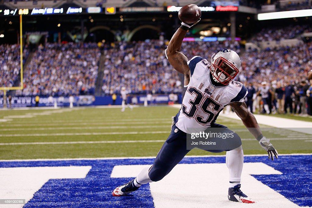 New England Patriots v Indianapolis Colts : News Photo