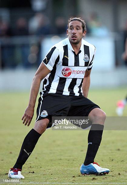 Jonas Gutierrez of Newcastle United during a pre season friendly match between Newcastle United and AS Monaco at the HackerPschorr Sports Park on...