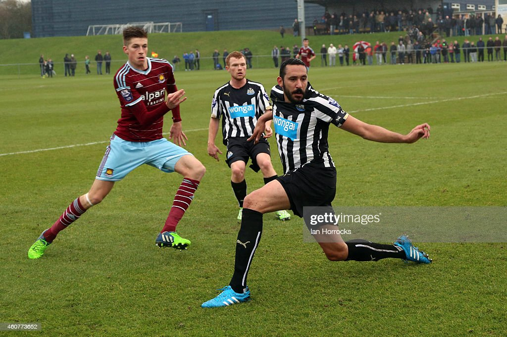 Newcastle United v West Ham United: Barclays U21 Premier League