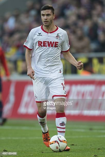 Jonas Hector of 1FC Koln during the Bundesliga match between 1FC Köln and TSG 1899 Hoffenheim on October 31 2015 at RheinEnergieStadion in Keulen...